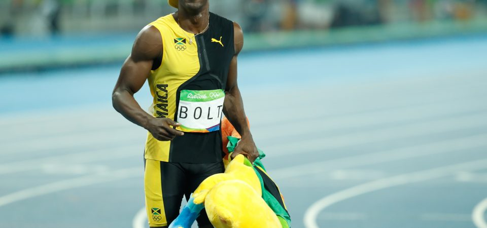 Usain Bolt: What's going on there?