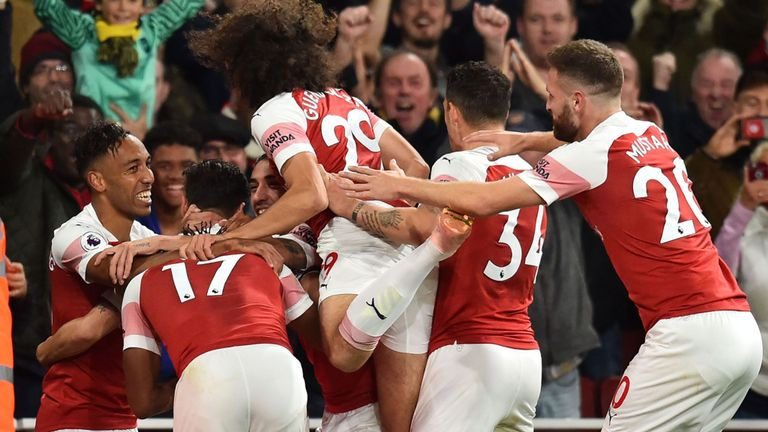 5 things noticed in Arsenal's 10 game winning streak